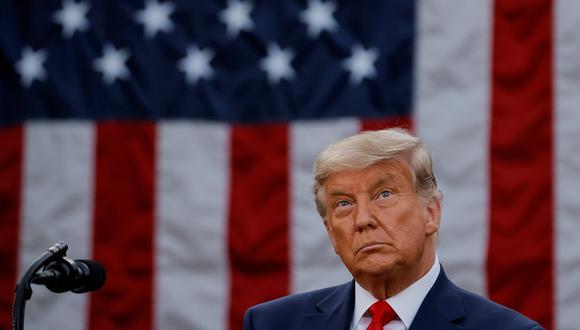 El presidente Donald Trump aún no concede la derrota en las elecciones y continúa dilatando el resultado final con demandas legales. REUTERS/Carlos Barria