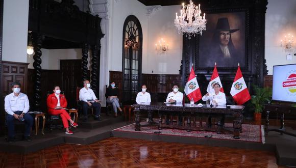 Recortarían en 15% sueldo del presidente, ministros y altos funcionarios de Estado por dos meses (Foto: Palacio de Gobierno)
