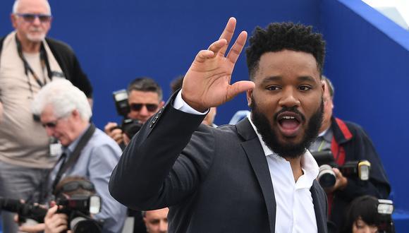 Ryan Coogler reveló que miró al cine latino para encontrar la forma de contar Black Panther. (Foto: AFP)
