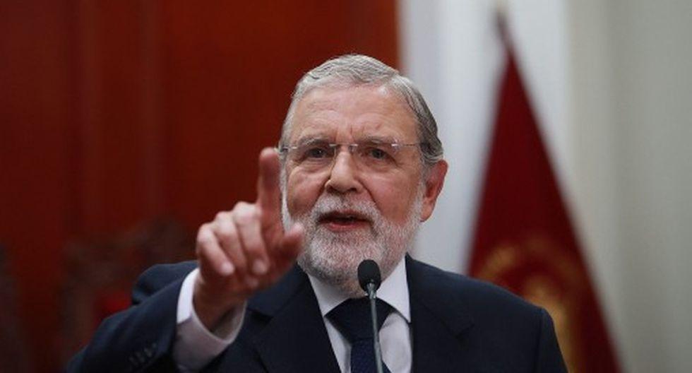 Ernesto Blume, presidente del TC, defendió la resolución aprobada por mayoría que dispone que Keiko Fujimori debe salir libre. (Foto: GEC)