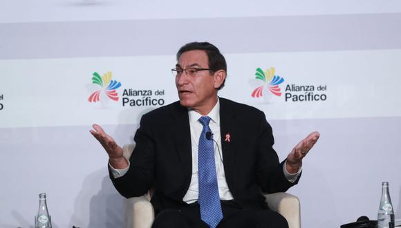 Martín Vizcarra. (Foto: Lino Chipana)