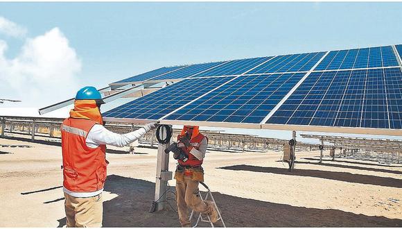 Energía renovable. (Foto: difusión)
