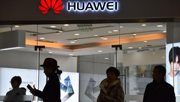 """""""Intentar eliminar las actividades de Huawei no ayudará a Estados Unidos a conseguir una supremacía tecnológica"""", dijo un funcionario chino. (Foto: AFP)"""