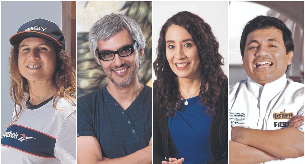 De izquierda a derecha: Sofía Mulánovich, Fito Espinosa, Giovanna Prialé y Héctor Solís nos cuentan su versión geográfica favorita del Perú y sus planes de viaje cuando hayamos superado la pandemia.