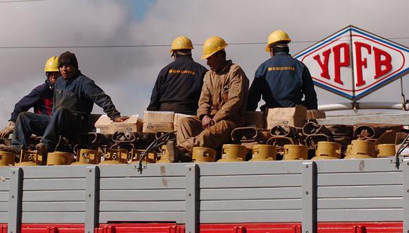La petrolera nacional del país altiplánico: Yacimientos Petrolíferos Fiscales Bolivianos (YPFB). (Foto: AP)