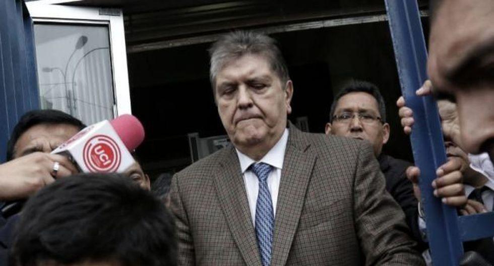 Alan García se disparó en la cabeza cuando iba a ser detenido por la Policía por un presunto caso de corrupción. (Foto: GEC)