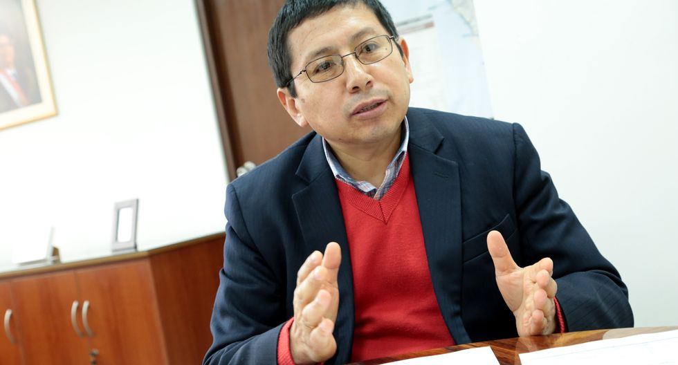 """""""Si sacas al 'Club de la Construcción', has acabado con todas las empresas del país"""", afirmó Edmer Trujillo, ministro de Transportes y Comunicaciones. (Foto: GEC)"""