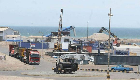 Foto 22   Infraestructura.  Consorcio Paracas, con el Terminal Portuario San Martín. (Foto: USI)