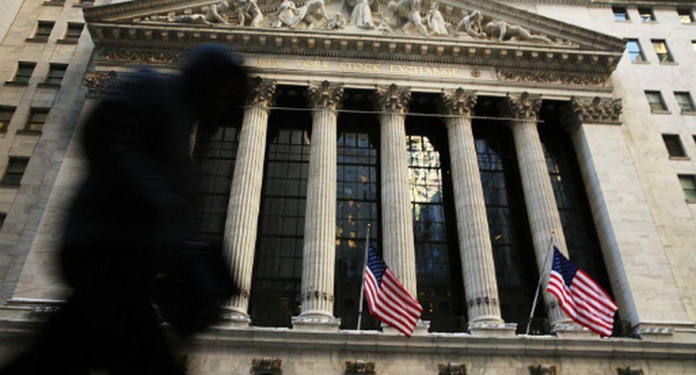 New York Stock Exchange, en Wall Street. (Foto: AFP)