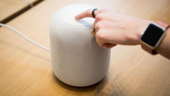 HomePod de Apple. (Foto: Bloomberg)