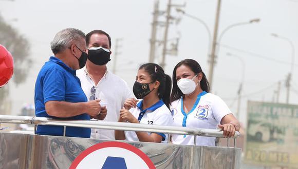 Yuriko Collantes Huacacolqui es candidata al Congreso de APP, que postula a la Presidencia a César Acuña. (Foto: Facebook)