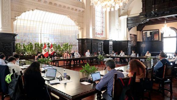 Ejecutivo informará el balance de las medidas tomadas frente a la segunda ola por COVID-19. (Foto: Presidencia)
