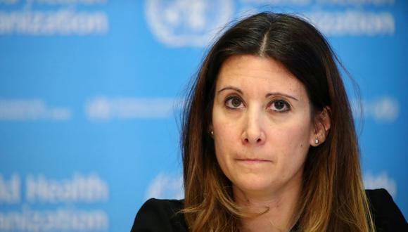 María Van Kerkhove, jefa del Departamento de Enfermedades Emergentes de la OMS. (Foto: Reuters)