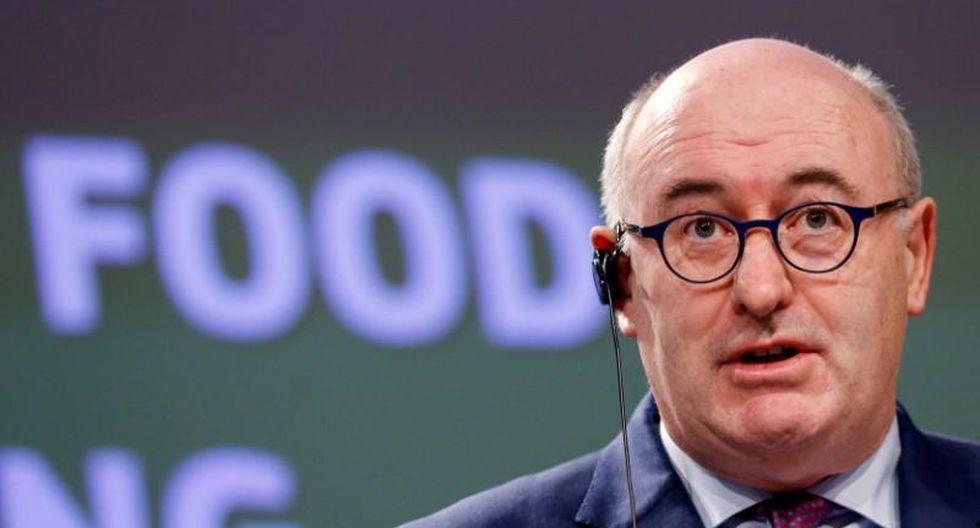 Phil Hogan, comisario de Comercio de la Unión Europea.