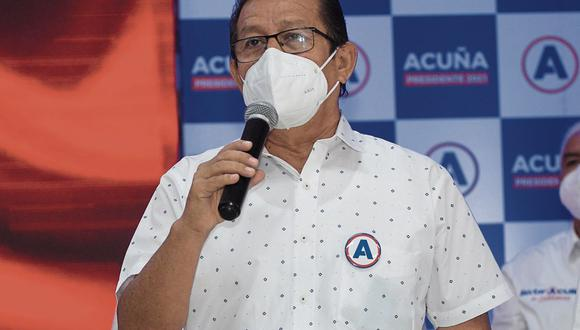 Reuniones. Eduardo Salhuana indicó que APP también buscará reunirse con las bancadas de Somos Perú y los legisladores morados. (Foto: GEC)
