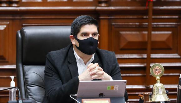 Luis Roel Alva, vicepresidente del Congreso, se refirió al informe final sobre denuncia contra Vizcarra y las exministras Pilar Mazzetti y Elizabeth Astete por el 'Vacunagate'. (Foto: GEC)