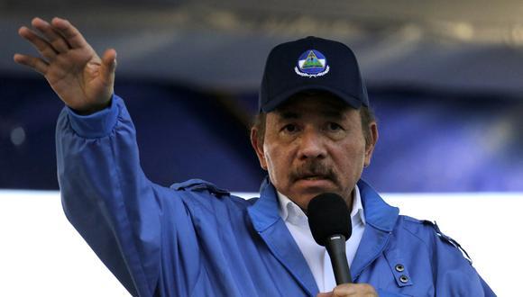 Esta semana, Estados Unidos sancionó a otros cuatro funcionarios y allegados a Ortega, incluyendo su hija y un alto oficial del Ejército encargado de manejar los fondos de pensiones. (Photo by INTI OCON / AFP).