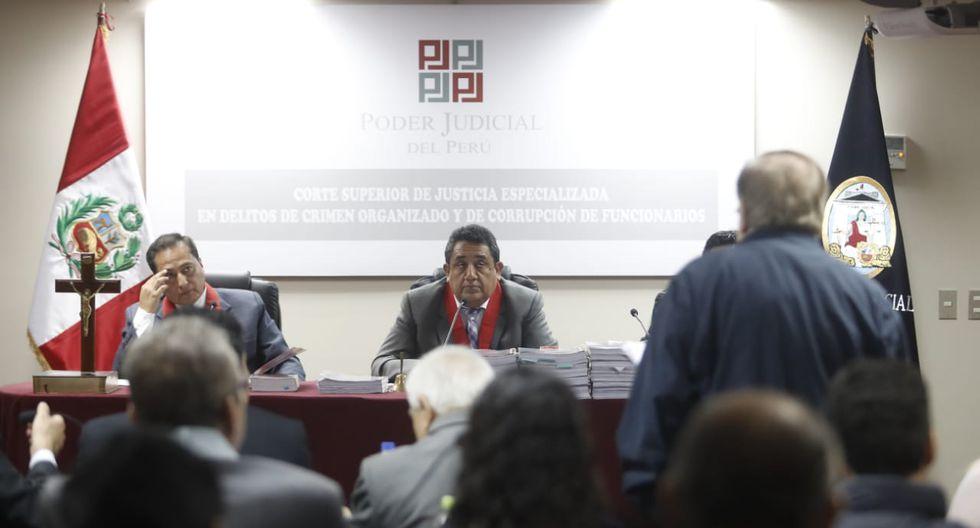 En la audiencia, los investigados hicieron uso de la palabra para defenderse de los cargos que se les imputan. (Foto: César Campos / GEC)