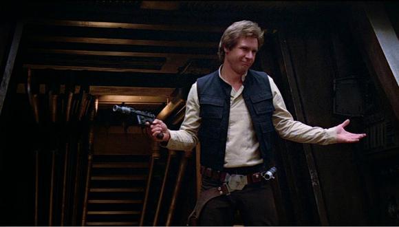 Harrison Ford interpretó al contrabandista Han Solo en la saga de Star Wars.
