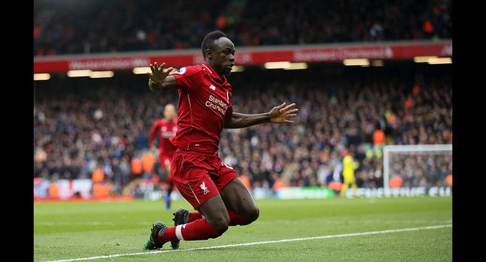 5. Sadio Mané (Liverpool). (Foto: Getty Images)