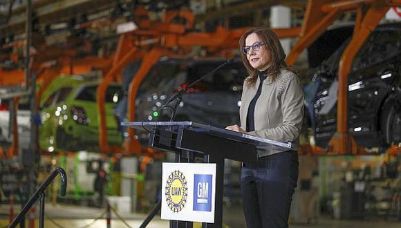 Mary Barra, presidenta de General Motors. (Foto: AFP)