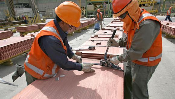 El cobre subía un 2.2% (Foto: AFP)