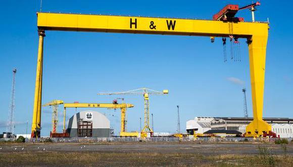 Con sede en Belfast, el astillero se había declarado en concurso de acreedores en agosto.