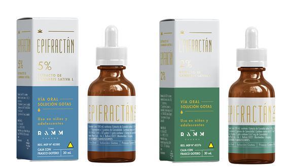 Cann Farm importará y distribuirá las soluciones orales Epifractán, elaboradas con cannabis. Los productos tendrán un diseño visual diferente para el mercado peruano. (Foto: Cann Farm)