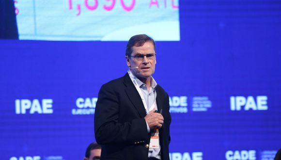 Carlos Neuhaus se presentó ante empresarios de la CADE 2018. (Foto: CADE 2018)