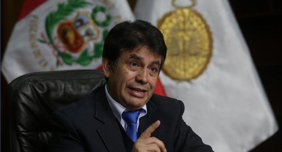 Fiscal supremo Tomás Gálvez pidió el retiro de los fiscales Rafael Vela y José Domingo Pérez del equipo especial Lava Jato. (Foto: GEC)