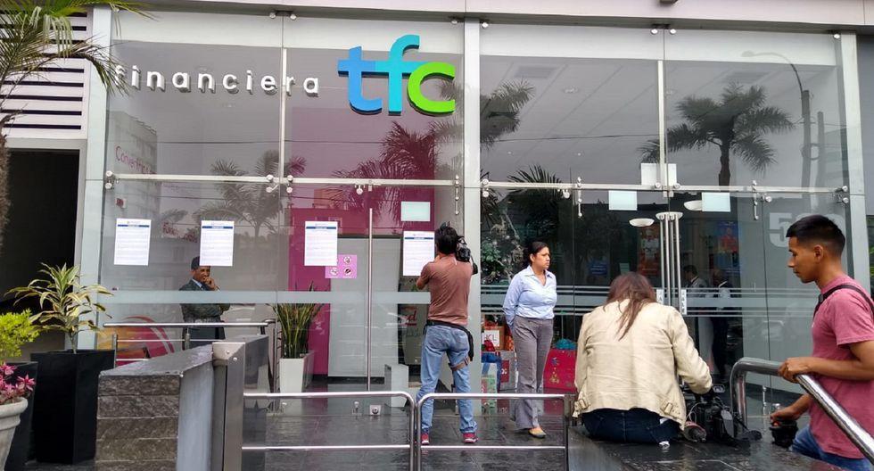 La Financiera TFC está en liquidación. (Foto: GEC)