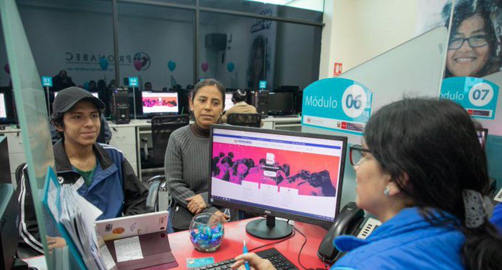 Beca Perú es una beca especial para estudiar carreras universitarias, técnicas y cursos. (Foto: GEC)