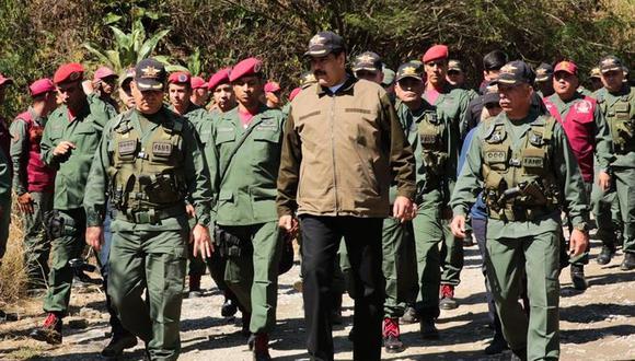 Venezuela | Petróleo, oro y alimentos, el verdadero poder de los militares del régimen de Nicolás Maduro. (EFE)
