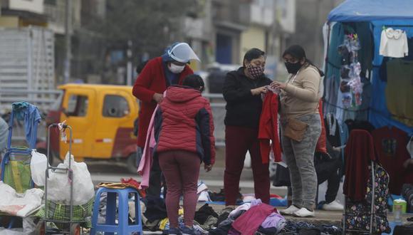San Juan de Lurigancho acumula 25.361 casos COVID-19 desde el inicio de la pandemia. Le siguen Cercado de Lima, con 22.280, y San Martín de Porres, con 17.567. (Foto: Violeta Ayasta/GEC)