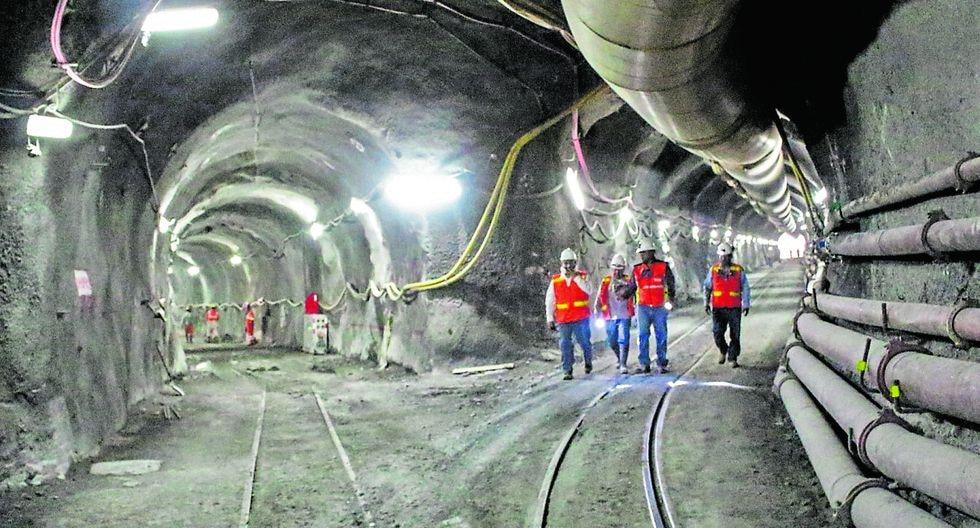 Trabajos a la fecha. Las obras en el túnel de trasvase en Alto Piura han sido de un 19.16% de avances, señala el Peihap. (Foto: GEC)