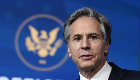 """""""Los que tienen peores registros de derechos humanos no deberían ser miembros de este Consejo"""", defendió el secretario de Estado, Antony Blinken. (Foto: AP/Carolyn Kaster)."""