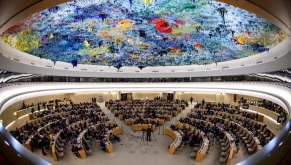 El Consejo de Derechos Humanos de la ONU, con sede en Ginebra, Suiza. (Foto: Difusión)