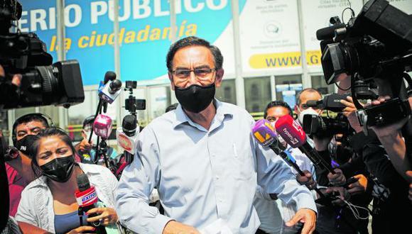 El expresidente de la República es el cabeza de lista de Somos Perú. (Foto: GEC)
