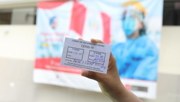 Las autoridades regionales señalan que la medida busca promover la inmunización en esta región. (Foto: GEC)