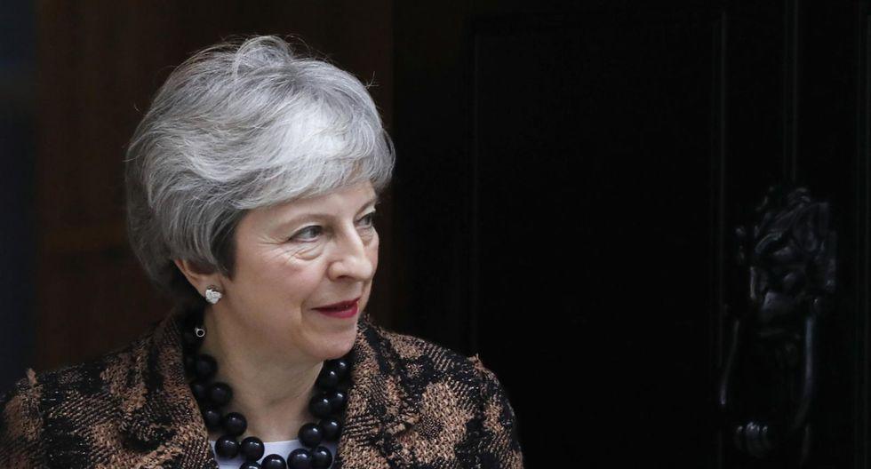 Theresa May. (Foto: Bloomberg).
