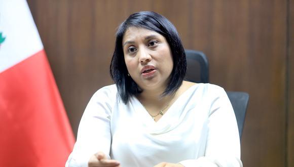 La ministra de Justicia, Ana Neyra, afirma que antes de fin de año, habrá una Procuraduría General autónoma. (Foto: Difusión)