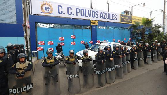 El pasado 4 de setiembre la comuna de La Victoria cerró de forma temporal el centro comercial Polvos Azules. (GEC)