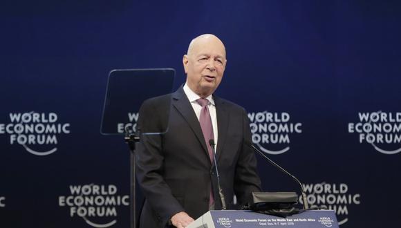 Fundador y presidente ejecutivo del Foro Económico Mundial (WEF, en inglés), Klaus Schwab. (Foto: EFE/Andre Pain)