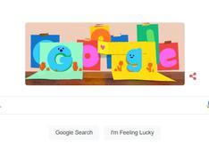 Día del Padre: Google celebra a los papás con doodle que simula una tarjeta virtual
