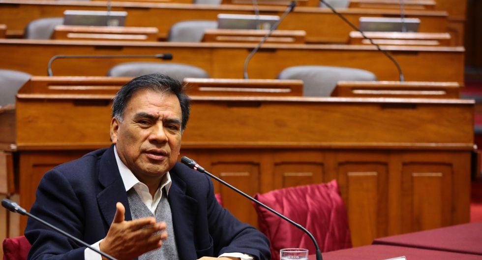 El congresistas Javier Velásquez Quesquén aseguró que su agrupación está dispuesta a colaborar con investigaciones de la fiscalía. (Foto: Congreso)