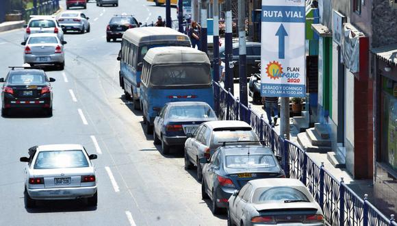 La propuesta del MTC también incrementa las multas a los conductores que superen los límites de velocidad. (Alessandro Currarino / GEC)