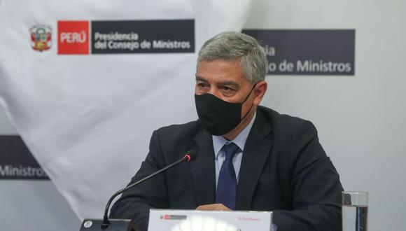 El ministro José Elice fue dado de alta en Villa Panamericana de Essalud tras superar el coronavirus. (Foto: Andina)