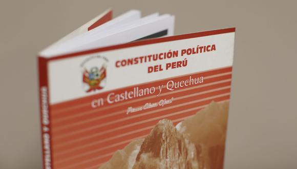 José Vega, de UPP, y Democracia Directa, anunciaron el proceso de recolección de firmas para convocar a un referéndum con la finalidad de cambiar totalmente la Constitución. FOTOS: MARIO ZAPATA / GEC