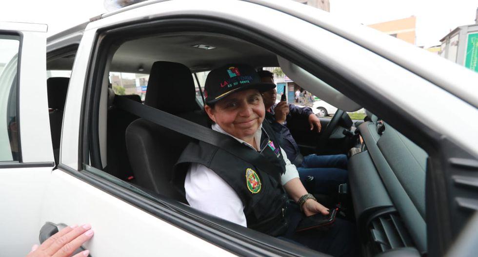 Susel Paredes, tras su renuncia a la lista de Somos Perú, sigue trabajando en la Municipalidad de La Victoria. (Foto: GEC)