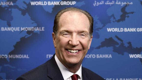 David Malpass, presidente del Grupo Banco Mundial. (Foto:Difusión)